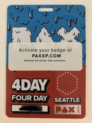Pax West 2019 - 4 Day badge for Sale in Seattle, WA