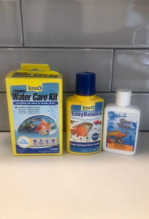 Water Care Kit for fish tanks for Sale in Artesia, CA