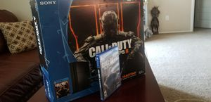 Ps4 500gb, power cord and hdmi, COD blk ops, no controller for Sale in Chandler, AZ