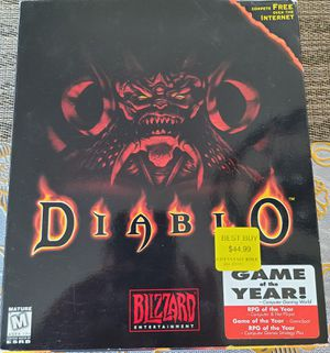 Diablo PC game for Sale in Hacienda Heights, CA