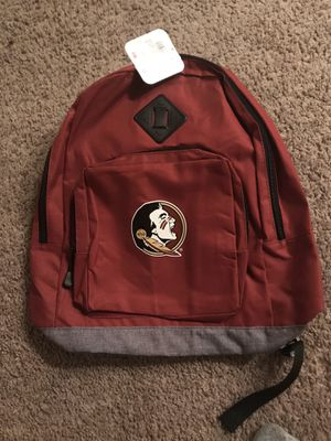 Florida State backpack brand new for Sale in West Palm Beach, FL