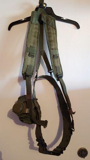 Military web belt and shoulder harness. for Sale in Las Vegas, NV