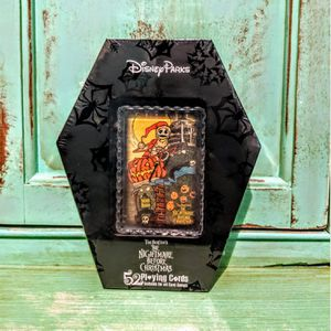Disney Parks Nightmare Before Christmas Haunted Mansion Holiday Playing Cards for Sale in Tampa, FL