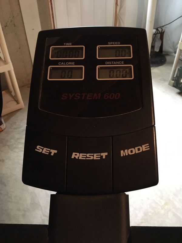 Stationary bike - ProSport System 600