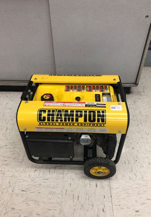 Champion 3500 Generator for Sale in Kansas City, MO