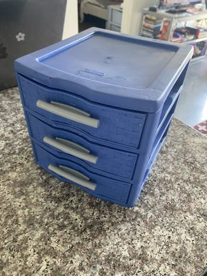 Small plastic storage for Sale in Tempe, AZ