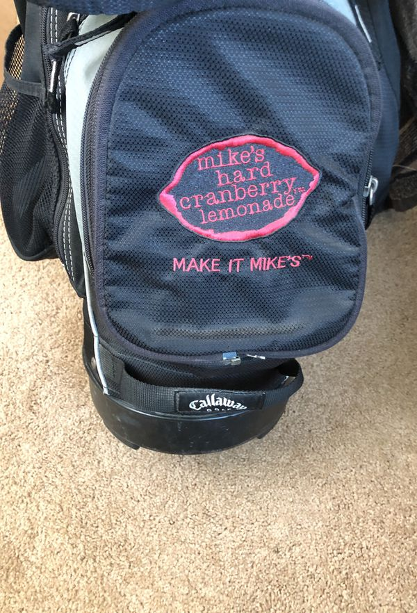 Golf clubs and bag. Taylor Made 2 drivers. Good condition