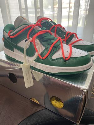 Nike SB Dunk Pine Green Off White Size 9 for Sale in Redlands, CA