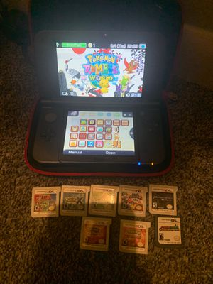 Nintendo 3DS + Games for Sale in Charlotte, NC