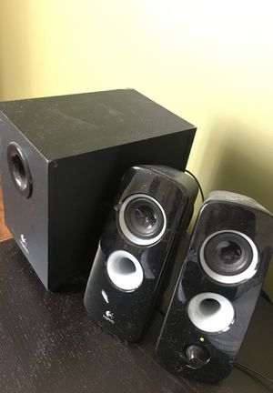 Logitech Stereo Speakers with Controllable Bass for Sale in Rockville, MD