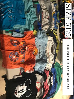 Kids clothes - size 4t and 5t for Sale in San Diego, CA