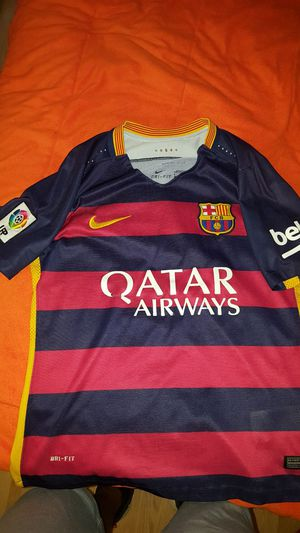 Barcelona Home Jersey 15/16 for Sale in Moreno Valley, CA