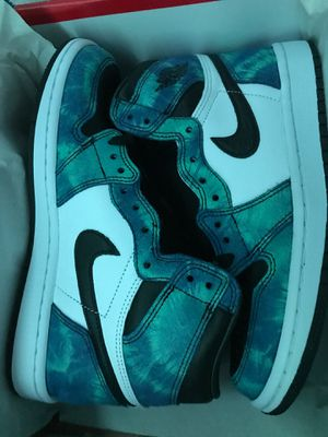 Jordan 1 tie dye size 6.5 for Sale in Deerfield Beach, FL