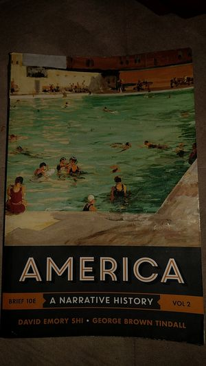 America a narrative history for Sale in Riverside, CA