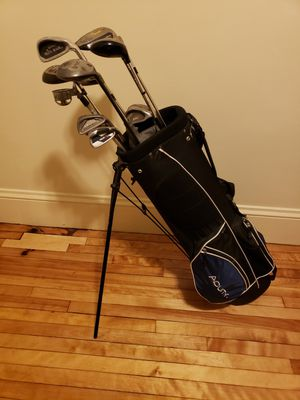 Golf Caddy w/ Assorted Clubs for Sale in Worcester, MA