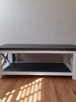 Handmade Solid Wood Farmhouse Coffee Table for Sale in Fresno,  CA
