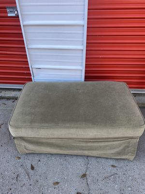 Extra Large Plush Ottoman for Sale in Stone Mountain, GA