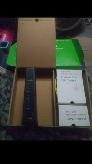Century link modem for Sale in Phoenix, AZ