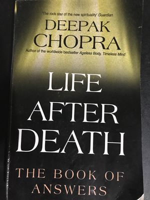Deepak Chopra - Life After Death The Book of Answers for Sale in Essex Junction, VT