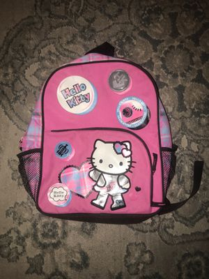 Hello kitty kids backpack for Sale in Oregon City, OR