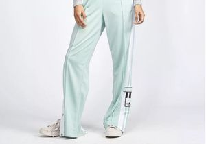 Like New Womens Adidas Snap Warm-up track Pant mint size Medium for Sale in Mill Creek, WA