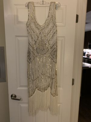 White (Large) Flapper dress for Sale in Walnut Creek, CA