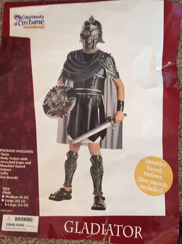 Gladiator Halloween costume-boys size