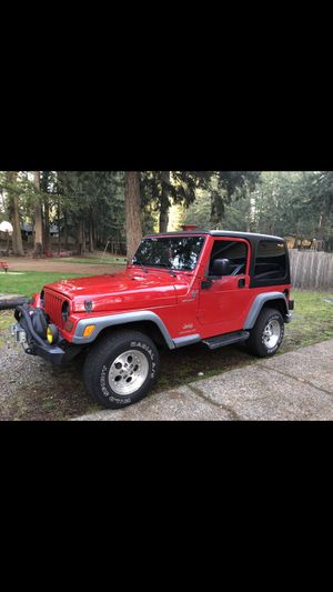2006 Jeep Wrangler for Sale in Lacey, WA