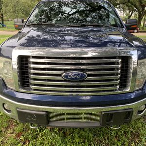 "2011 Ford F-150 XLT Blue Crew Cab "" Clean Title "" ~ $3000 ~ Down Payment ~ Everyone Approved ~ for Sale in Hollywood, FL"