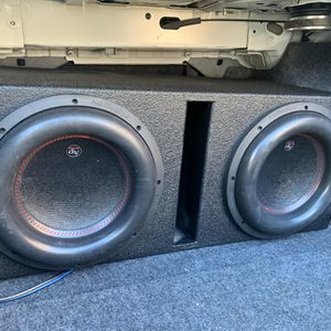 """12"""" Audiopipe 4stack for Sale in The Bronx, NY"""