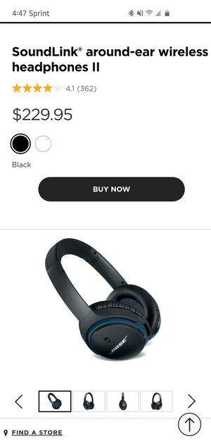 SoundLink® around-ear wireless headphones II for Sale in Alexandria, VA