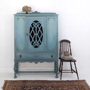 Blue China Cabinet Hutch for Sale in Vienna, VA