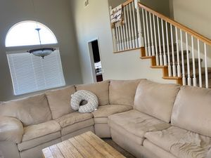 Sectional couch for Sale in Lake Elsinore, CA