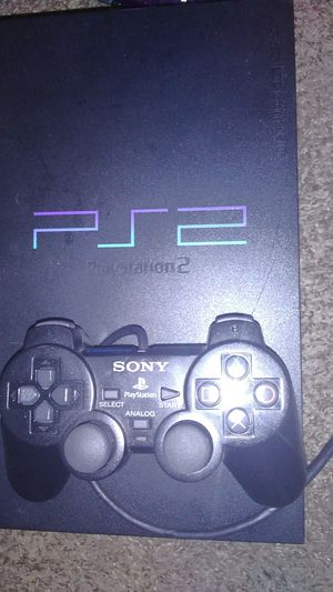 PS2 w/2 controllers and street ball volume 2 for Sale in Houston, TX