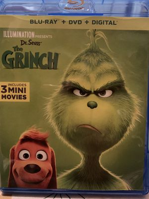 Sr. Seuss The Grinch Blu-Ray disc only for Sale in Jurupa Valley, CA