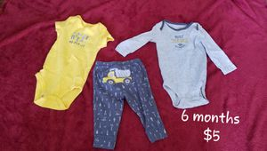 Baby clothes, 6 months for Sale in US