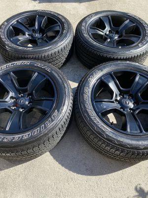 "20"" Dodge Ram OEM rims wheels tires NEW! for Sale in Boynton Beach, FL"