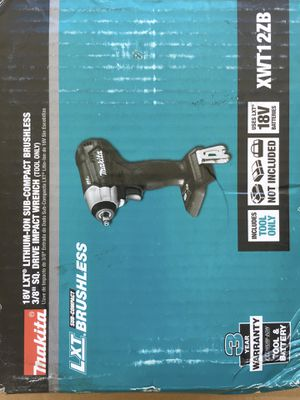Makita XWT12ZB impact for Sale in Fremont, CA