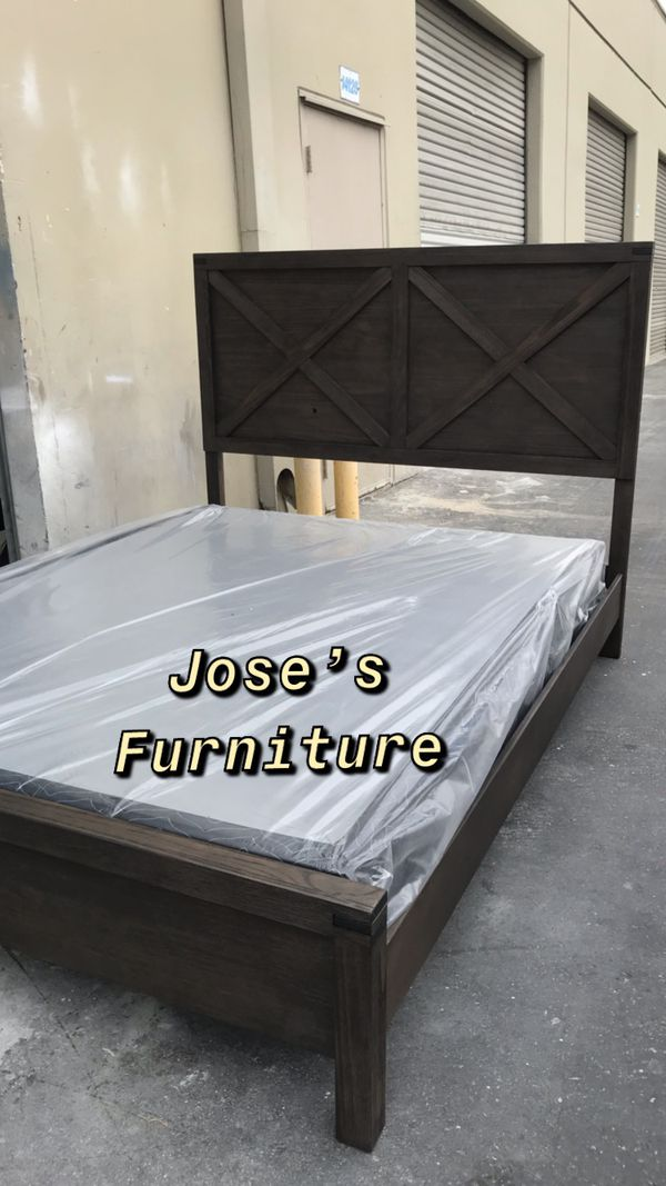 Queen Size Bed Mattress Included For Sale In Los Angeles