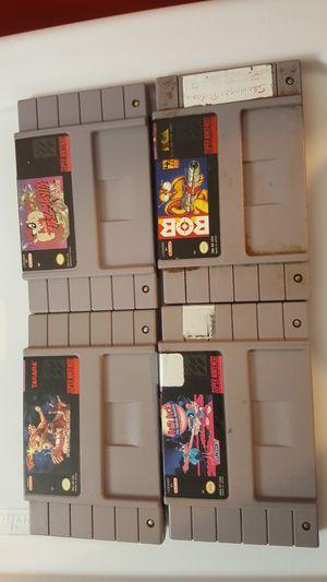 Super Nintendo lot 6 for Sale in Chicago, IL