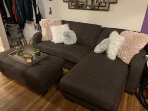 Sectional sleeper sofas with underneath storage for Sale in Yonkers, NY