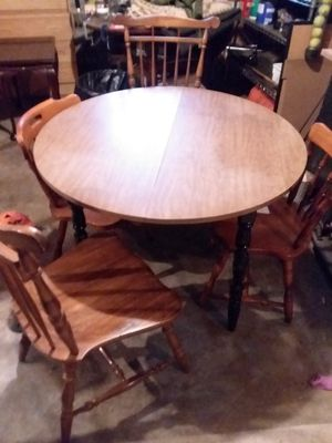 Table/4 chairs for Sale in Lexington, KY