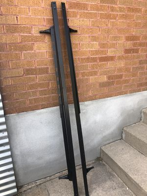 Metal bed frame w/ free box spring if wanted for Sale in Salt Lake City, UT
