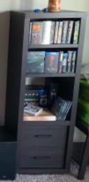 New!! 3 Shelf Unit,Bookcase,Audio/Video Storage,Shelving Unit w/2 Drawers for Sale in Phoenix, AZ