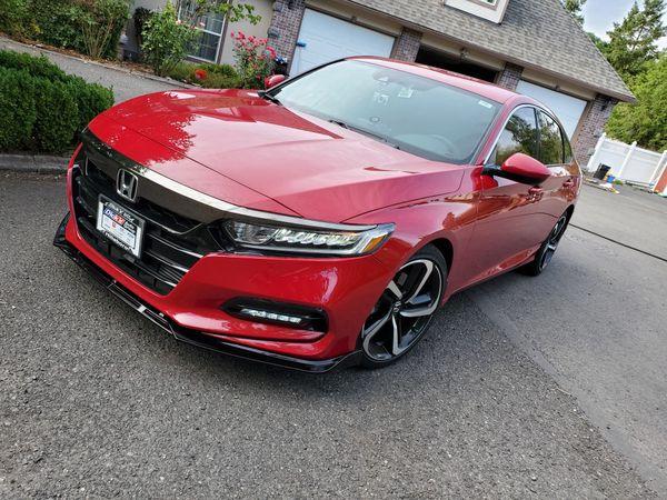 2018 Honda Accord Sport Excellent Conditon