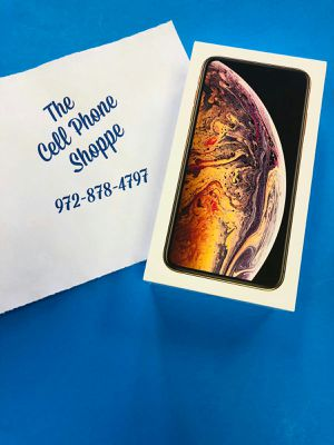 iPhone Xs Max 256gb Factory Unlocked New 10/10 in Box (sale) for Sale in Carrollton, TX