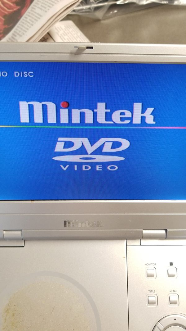 Mintek MDP-1810 8-Inch Portable DVD Player