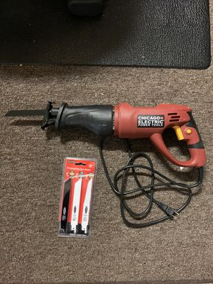 Chicago Electric Reciprocating Saw/Sawzall for Sale in Temecula, CA