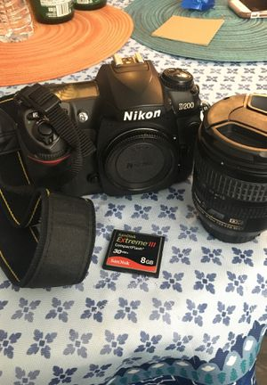 Nikon d200 with 18-70 lens for Sale in Downey, CA