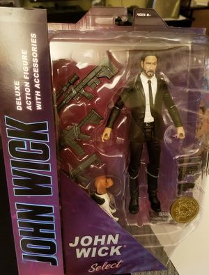 John Wick Diamond Select deluxe Action Figure! In stock for Sale in Los Angeles, CA